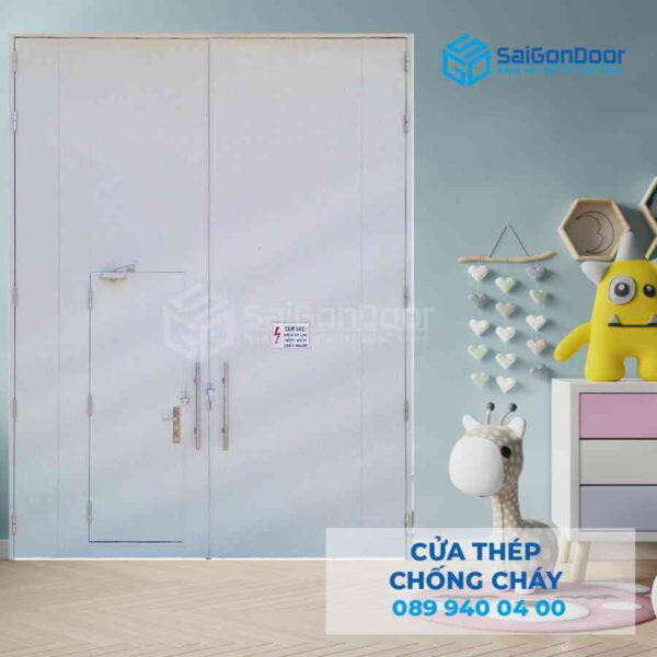 Cua thep chong chay 3P canh nho lon cho nha xuong.jpg SGD TCC