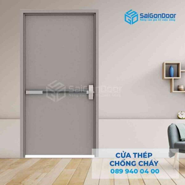 Cua thep chong chay TCC P1 Gray.jpg SGD TCC